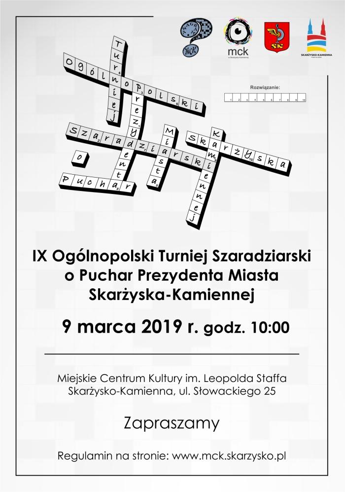 plIX OgolnTurn Szaradz 2019