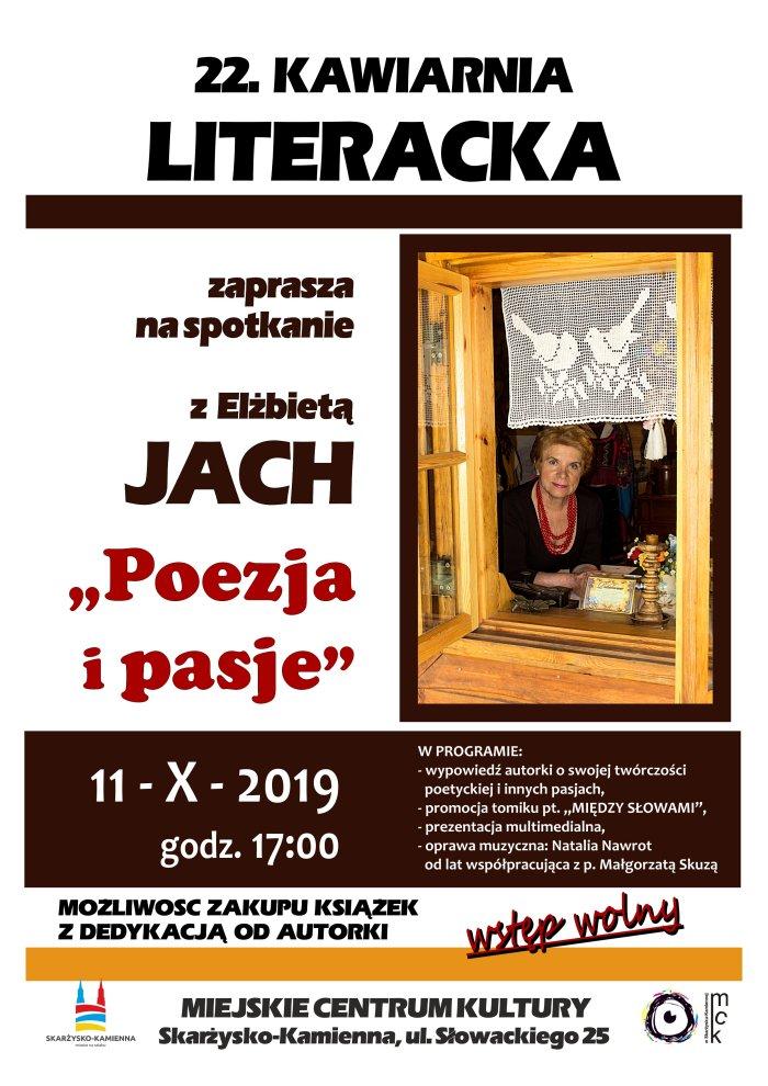 kawiarnia literacka Ela Jach