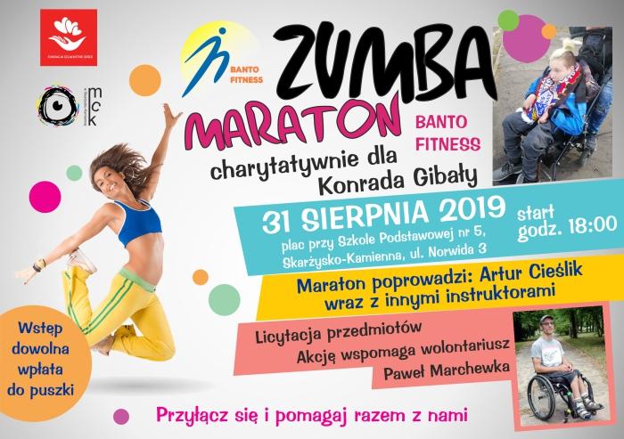 maraton ZUMBA sierpien 2019