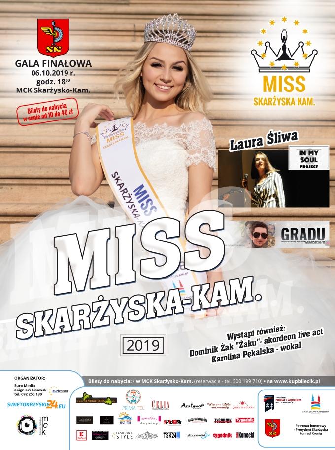 MISS Skarzyska plakat 2019
