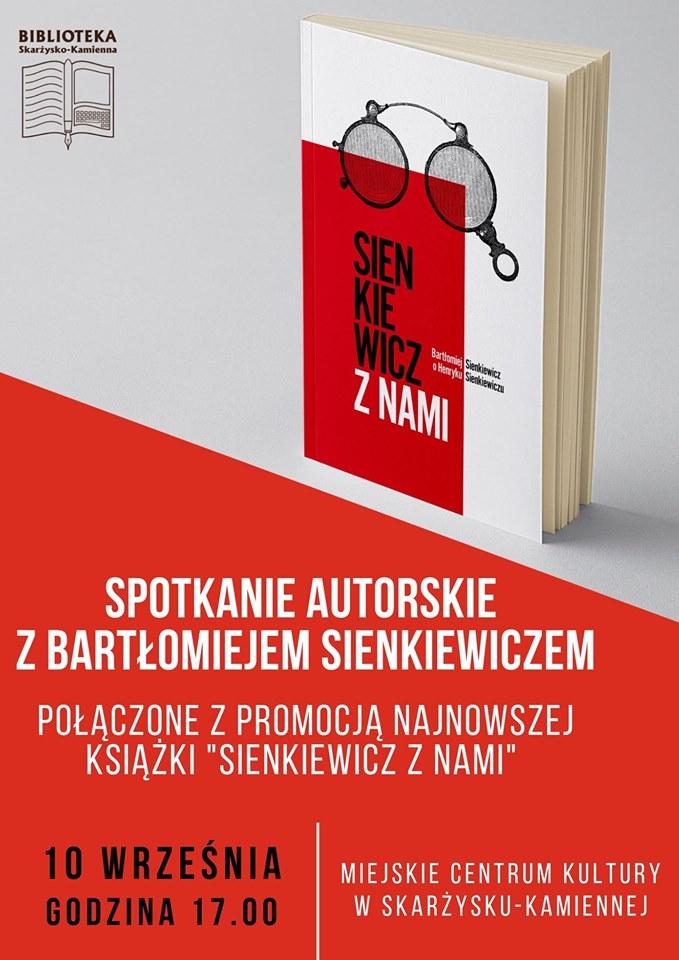 spotkanie autorskie z Bartlomiejem Sienkiewiczem