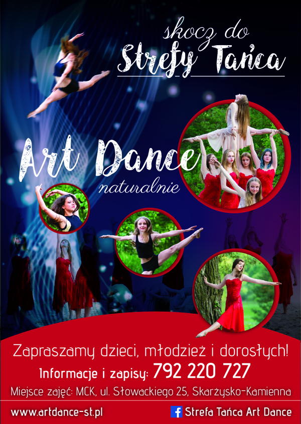 plakat ART DANCE